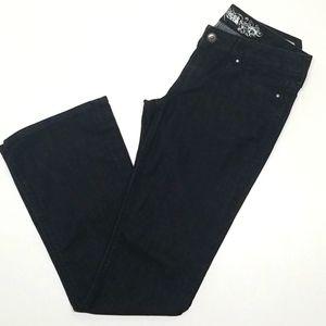 Express Stella Boot Cut Regular Fit Low Rise Jeans